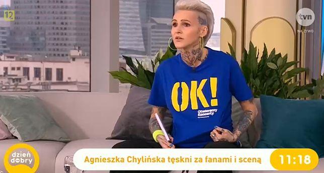 Agnieszka Chylińska marzy o powrocie na scenę.