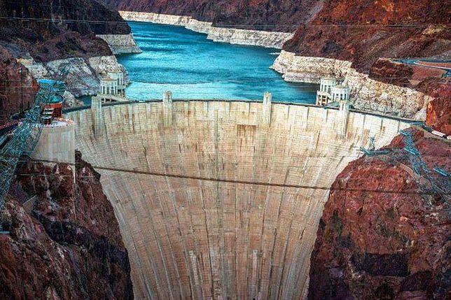 Zapora Hoovera - jedna z największych atrakcji USA
