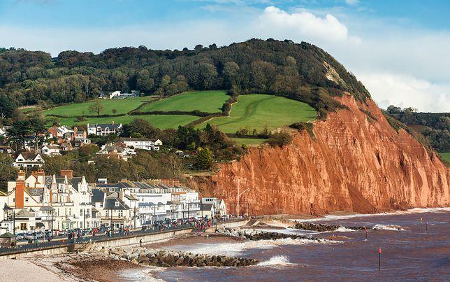 Zawaliły się klify w hrabstwie Devon