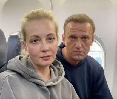 Julia Nawalna zatrzymana podczas demonstracji