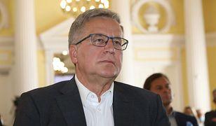 Komorowski zabrał głos w sprawie powrotu Tuska
