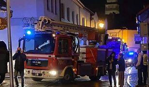 Śląskie. Starszy mężczyzna zginął w pożarze budynku w Żywcu, najprawdopodobniej w wyniku zaczadzenia.