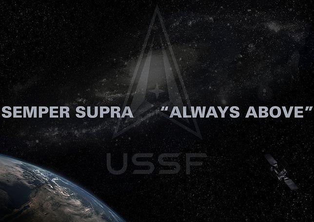Siły kosmiczne USA zaprezentowały nowe logo i motto