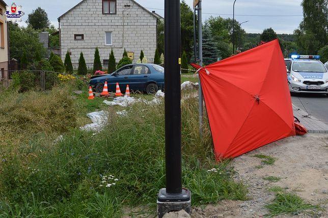 Suchowola. Potrącony 43-latek zginął na miejscu wypadku