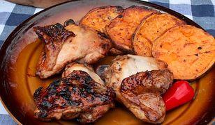 Udka z kurczaka z sosem barbecue. Idealne na grilla