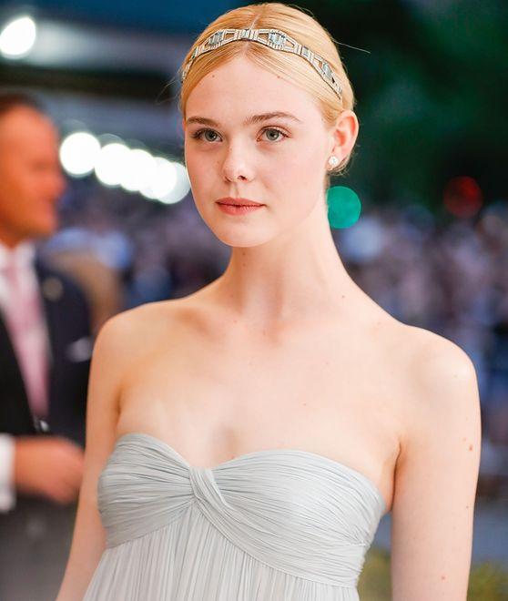 Młoda aktorka na Met Gali w 2017 r.