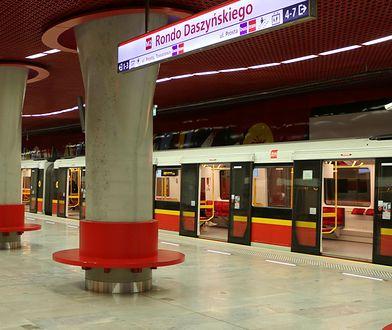 Zmiany w kursowaniu metra. Przez tydzień skrócona trasa M2