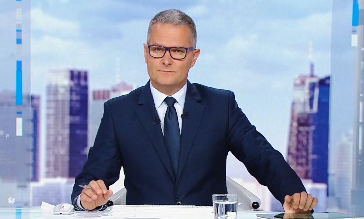 Marek Piotr Wójcicki żegna się z anteną Polsat News