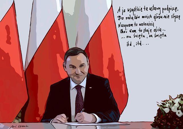 """Andrzej Pągowski: """"Kolęda dla Dudy"""" będzie miała kolejną zwrotkę?"""
