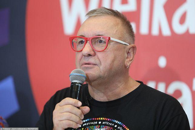 Lider Wielkiej Orkiestry Świątecznej Pomocy Jerzy Owsiak