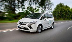 Napędzany gazem ziemnym Opel Zafira z ekologiczną nagrodą