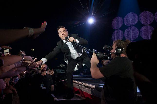 Robbie Williams słynie z tego, że daje niesamowite show