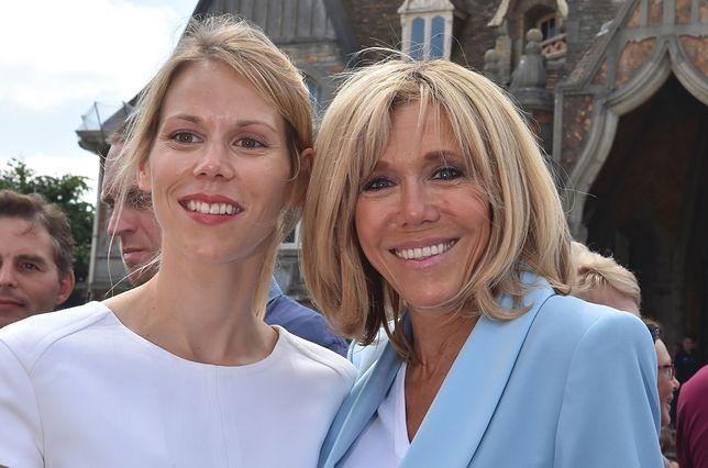 Tiphaine Auzière z mamą Brigitte Macron.