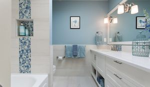 Modna łazienka w kolorach Pantone 2016