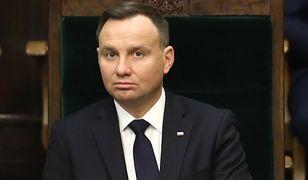 Prezydent Andrzej Duda ma wykupioną polisę na życie