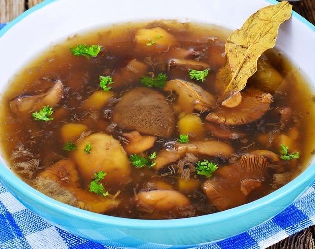 Wigilijna zupa grzybowa ze Śląska