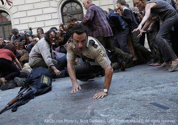 """Daryl z """"Żywych trupów"""" w opałach"""