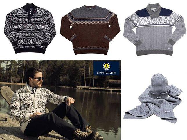 Swetry męskie na jesienne dni