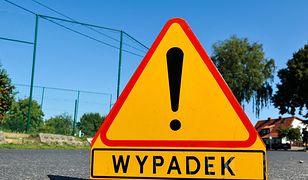 Zderzenie czterech samochodów na S8 w powiecie pruszkowskim
