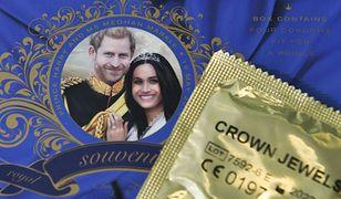 Prezerwatywy z wizerunkiem księcia Harry'ego i Meghan Markle to prawdziwy hit kolekcjonerski
