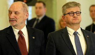 Antoni Macierewicz i Paweł Soloch