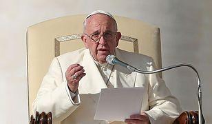 Papież Franciszek pozdrowił pielgrzymów z Polski