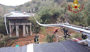 Włochy. Zawalił się fragment autostrady A6 z Turynu do Savony