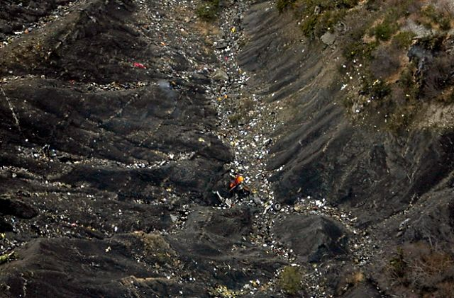 Katastrofa samolotu Germanwings - zdjęcia