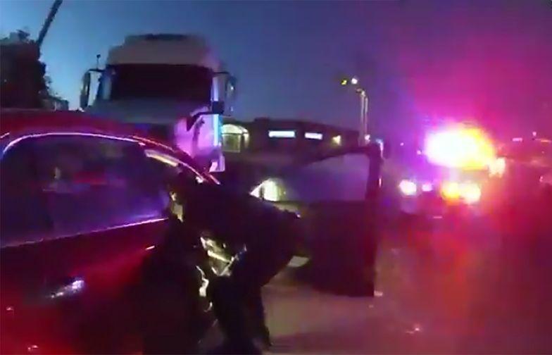 9-latka za kierownicą ruszyła do Kalifornii. Cudem uniknęła tragedii
