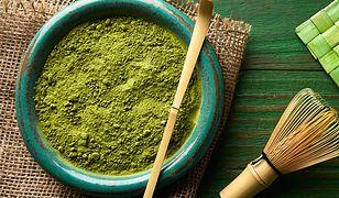 Zielona herbata Matcha