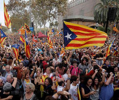 Demonstranci chcą uwolnienia katalońskich polityków