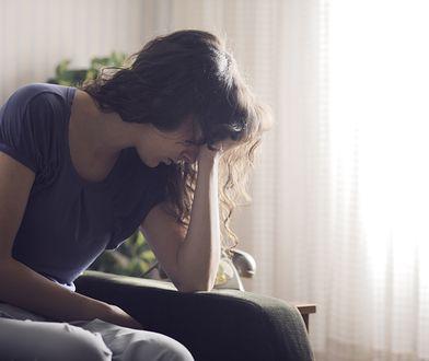 Padła ofiarą przemocy domowej