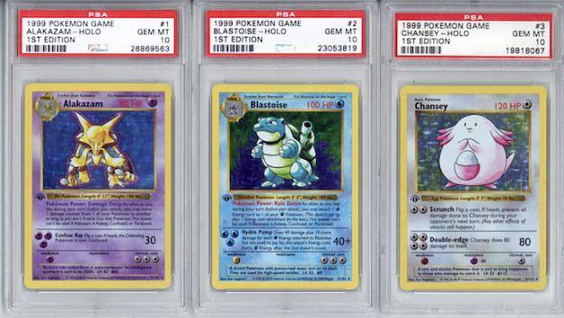 Zestaw kart Pokemon sprzedany za rekordową sumę