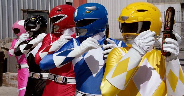 """""""Power Rangers"""" - nowa produkcja bez starej obsady"""