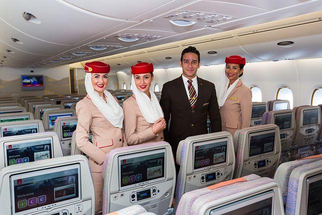 Emirates znów rekrutuje w Polsce. Zarobki nawet 10 tys. zł