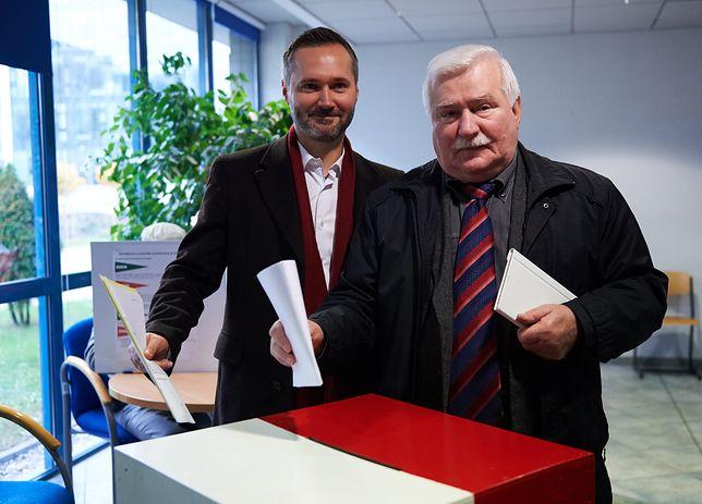 """Jarosław Wałęsa daje radę ojcu. """"Żeby się troszeczkę odchudził"""""""