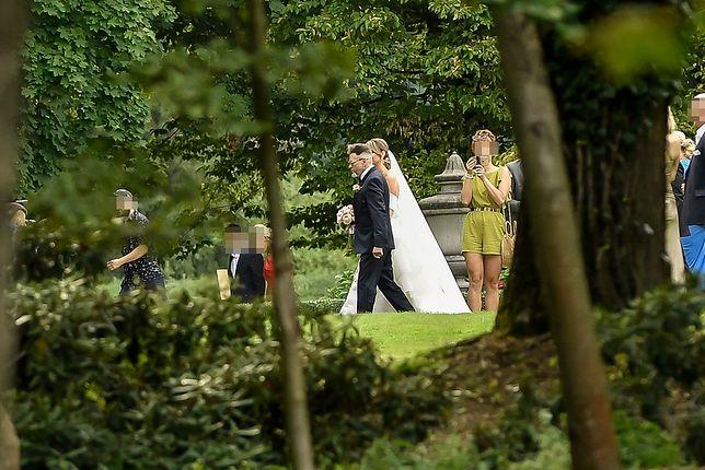 Ślub Krzysztofa Rutkowskiego i Mai Plich odbył się pod Warszawą