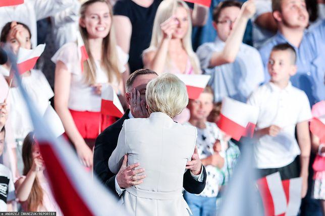 Wyniki wyborów prezydenckich 2020. Spontaniczna reakcja Pierwszej Damy