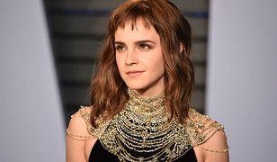 Emma Watson nie jest singielką. Ma udany związek z.. samą sobą
