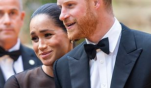 """Księżna Meghan i książę Harry na premierze filmu """"Król Lew"""""""