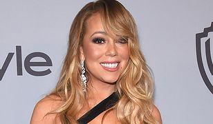 Mariah Carey o krok od wpadki na Złotych Globach? Ten dekolt to odważne posunięcie