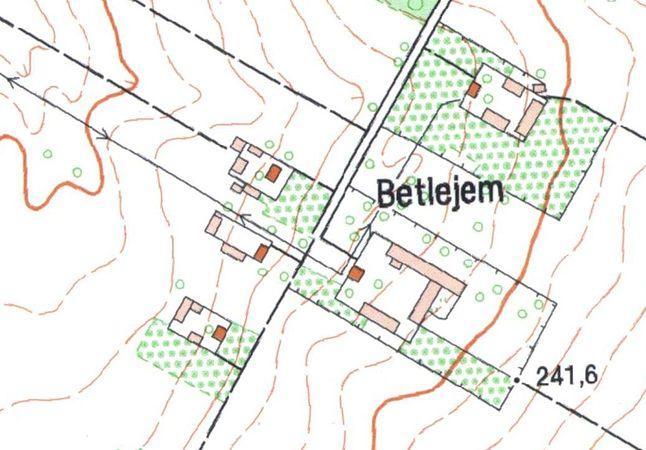 Dokładny obraz wsi Betlejem