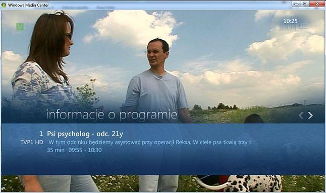Windows Media Center w akcji