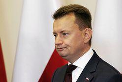 """Jest odpowiedź Błaszczaka ws. pl. Piłsudskiego. """"Moja decyzja była zgodna z prawem"""""""