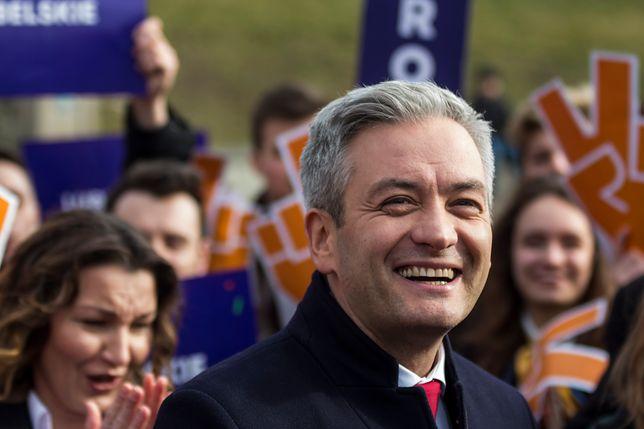 Europoseł i lider Wiosny Robert Biedroń