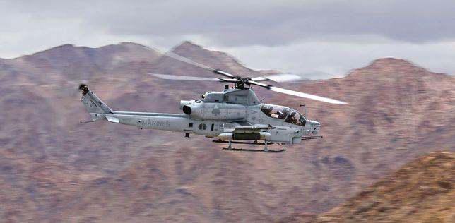 AH-1Z Viper w kolorach US Marines