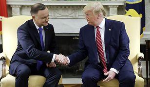 """Makowski: """"Co z przełożoną wizytą amerykańskiego prezydenta? 'Trump do Polski w tej chwili nie przyleci'"""" [NEWS]"""