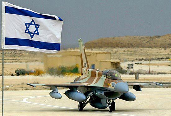 Izraelskie samoloty zaatakowane