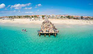 Plaża Santa Maria na wyspie Sal - lepszej reklamy wyspy nie znajdziecie