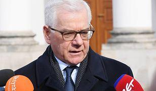 Jacek Czaputowicz wystąpił na konferencji z brytyjskim ministrem